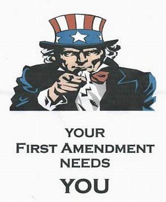 A good thesis statement for the first amendment